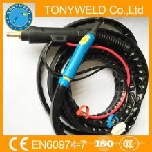 Tocha de soldagem de tig com água de série wp-18 série