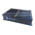 Ordinateur de PC sans ventilateur industriel de COM double PC de jeu de PC de noyau de PC de noyau Intel I3 4010u mince VGA HDMI