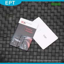 Customized Logo Bulk Waterproof Credit Card USB Flash Drive for Free Sample