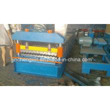 Rollformmaschine für Metallgewelltes Dachblech