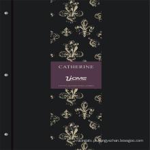 Uhome últimas 192g Foamig alta puro papel Europeu Vintage Wallpaper - Catherine