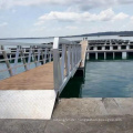 Pontoon for floating dock high buoyancy aluminum boat docks prices for hot sale