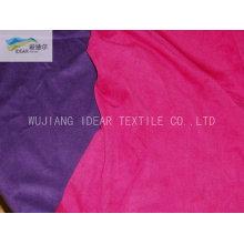 75DX180D trama poliéster Micro gamuza tela para textiles para el hogar