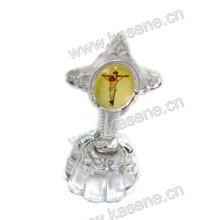Kostbare Kristall-religiöse Modelle, Kristall-Religion Kristall stehende Kreuze
