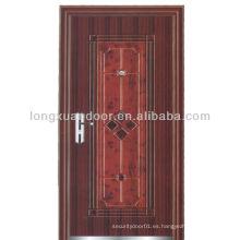 Puerta ignífuga de madera