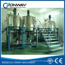 Pl Stainless Steel Jacket Emulsification Mixing Tank Oil Blending Machine Mixer Sugar Solution Jacket Stirring Mixer