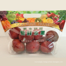 Transparent Mango Cherry Grape Kiwi Banana Packaging Bag for Fruit Vegetable Fresh Keeping
