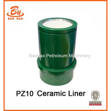 Drilling Mud Pump Ceramic Cylinder Liner PZ10