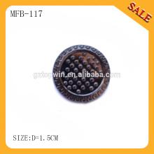 MFB117 Декоративная кругловязальная металлическая кнопка для джинсов, кнопка для набрызгания краской для джинсов