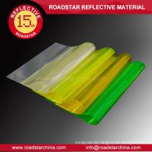 Hohe Sichtbarkeit prismatischen reflektierende PVC-Folie