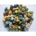 Whosale chocolate compound stone shaped chocolate