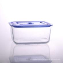 Large Glass Food Storage Box with 102oz Capacity