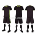 2017 child blank soccer club uniform sets top quality child soccer jersey sets dry fit breathable football jersey sets