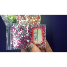 New product Mirror glitter for nail art and cosmetic 12color mirror glitter