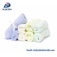 Paños del bebé de la fibra de bambú del suministro de la fábrica de China blanco estupendo suave