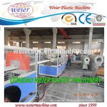 Maquinaria extrusora de tornillo doble cónico para la fabricación de tubería de PVC