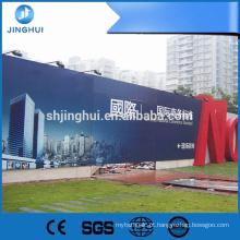Cartazes de filmes 610g atacado pvc flex impressão de banners para fazer compras