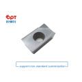 PCD horn milling ceramic lathe inserts for titanium