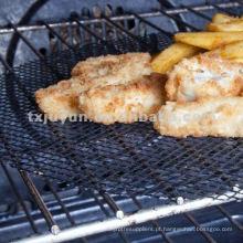PTFE Revestido Fiberglass Food Grade Grade Grill Bandeja