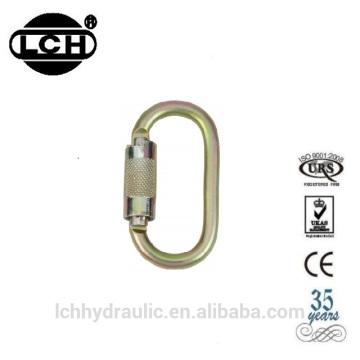 24kn steel carabiner hook with steel carabiner