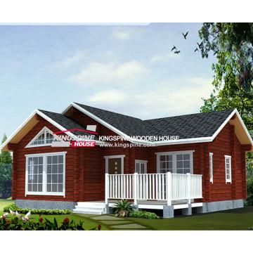 villa de madera prefabricada de lujo