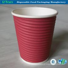 Ripple Wall Paper Cup para o café quente