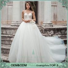 Reizvolle Hochzeitskleider für plus Größe kundenspezifische Größenhochzeitskleider für Philippinen realen Beispielbild Brautkleid