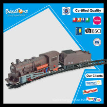 Hot item battery operated train railway toy