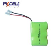 батарея Ni-MH аккумулятора 3.6 В 2/3aa с 600мач батареи 2/3aa аккумуляторная батарея NiMH