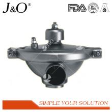 Válvula de pressão constante de ajuste sanitário