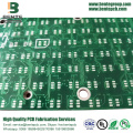 Immersion Tin 2 Lagen FR4 PCB Standaard PCB Tapered Holes