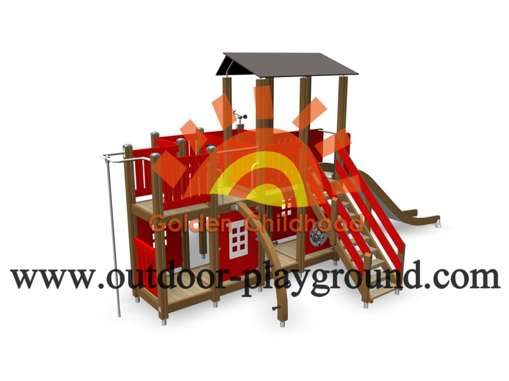 Wooden Play Structure Kits