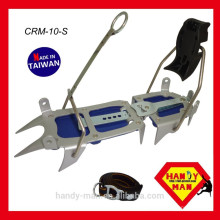 CRM-10-S Stepin versão Ice Traction Climbing Crampon