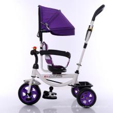 Triciclo de bebê quente de guarda-chuva 2016 com rodas de EVA