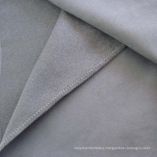Polyester Suede Faux Leather Sofa Upholstery Fabric