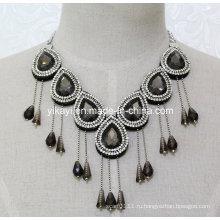Женщины мода очарование стекла Кулон Кристалл воротник ожерелье ювелирные изделия (JE0205)