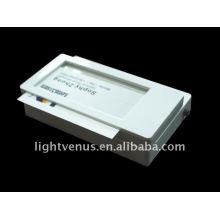 novos crachás foto design empresa levado iluminado nome distintivo LED piscando emblemas exibe