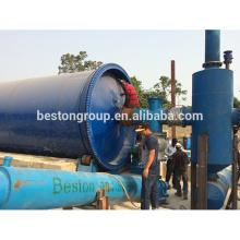 La pirólisis plástica inútil 2015 a la máquina de aceite utiliza el aceite de la pirólisis del neumático de desecho con el CE, ISO