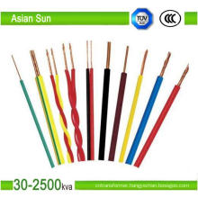 450/700V Thw PVC/XLPE Insulated Electric Copper Cable