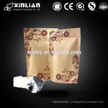 Природный крафт-бумажный мешок / Природная крафт-фольга Stand Up Zip Pouch