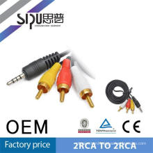 SIPU Factory supply best price 3.5mm av cable weight