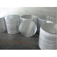 Folha redonda de alumínio sem liga para panela antiaderente