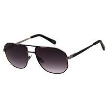 Customised Vintage Shades Sunglasses Best Quality Flex Hinge Two Color Plating Unisex Polarized Metal Sunglasses
