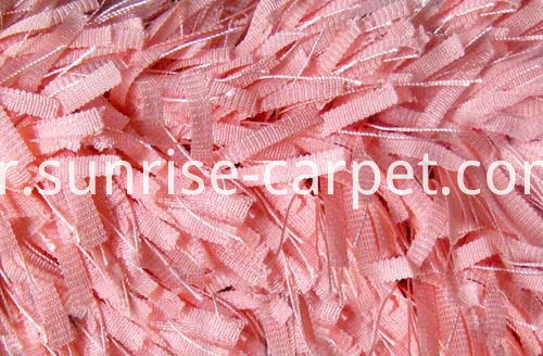 Polyester Narrow Strip Shaggy1