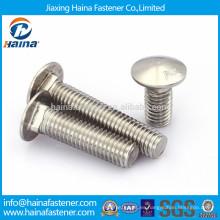 DIN603 en stock Abrazadera de acero inoxidable A2-70, ANSI B18.6.3