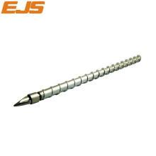 nitriding or bimetallic treatment injecting molding screw barrel