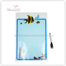 Promotional Gift 33*48cm Wall/Icebox Memo Pad Sticker with Marker