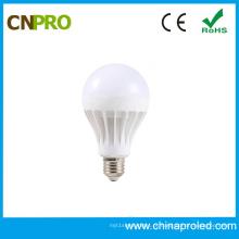 Luz de lâmpada LED de plástico quente de 3W a 15W