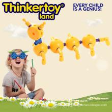 Пластмассовая Игрушка Ребенка Образования Игрушка для Обучения Насекомого