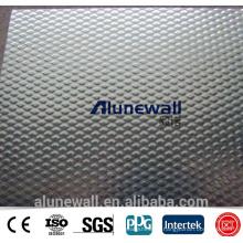 Alunewall Embossed Aluminum Composite Panel Emboss acp wall panels